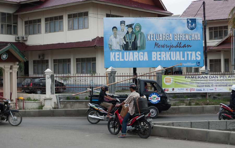 Education offered in Banda Aceh