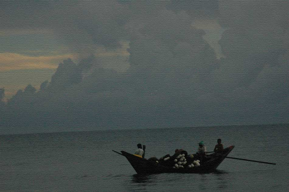 Fishermen in Banda Aceh
